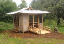 finished tea hut